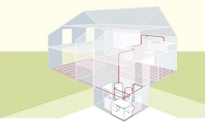 WPL – pompe de caldura aer / apa cu montaj in interior sau in exterior, puteri intre 13 si 23 de KW