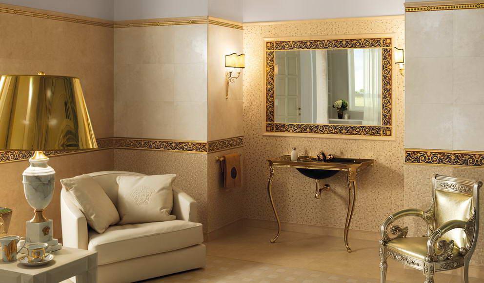 Design pentru interior versace blogul romstal - Rivestimenti bagno versace ...