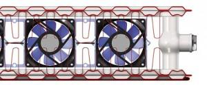 radiatorului ULOW-E2