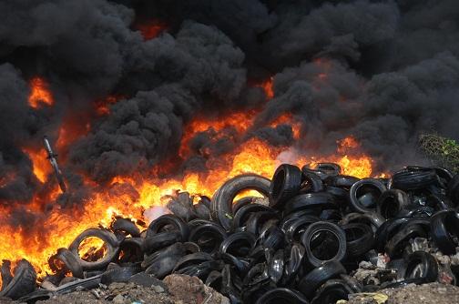 ardere gunoi