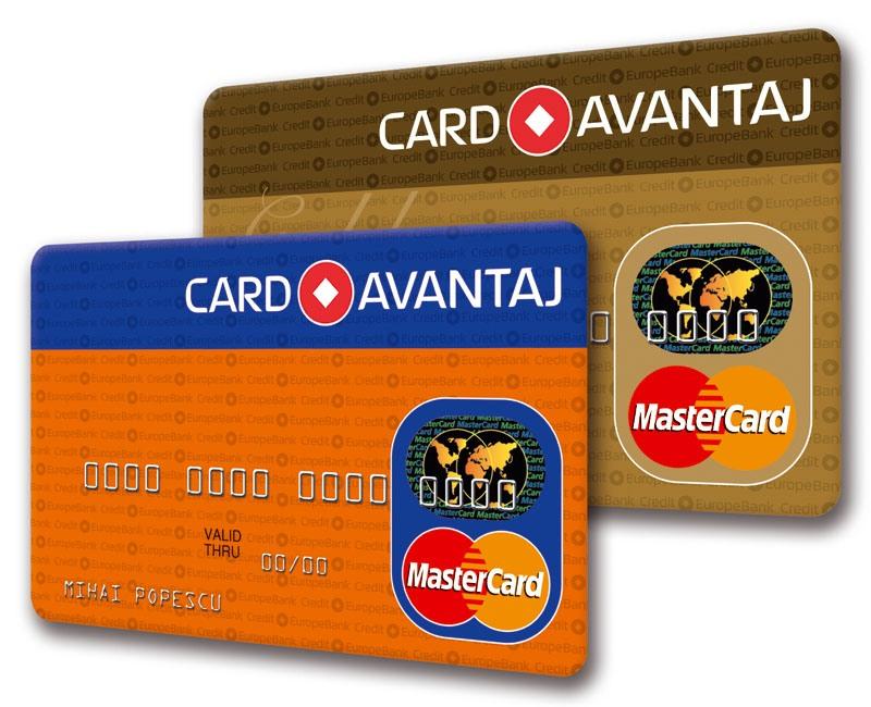 Card avantaj online formular credit europe bank