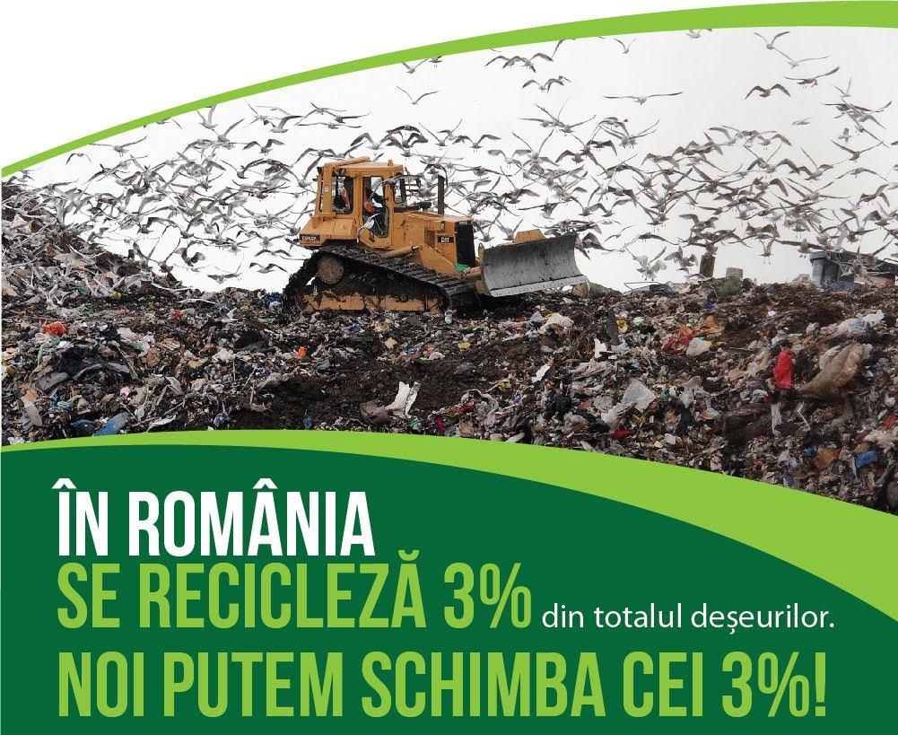 reciclare 3 la suta