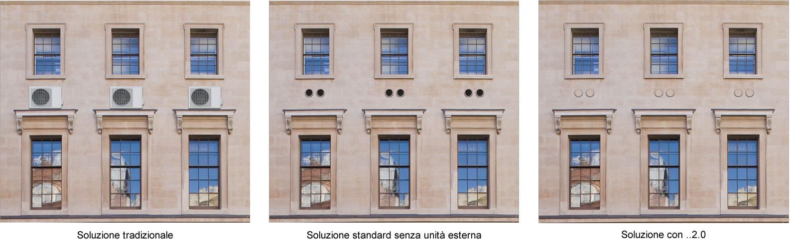 aer conditionat exterior