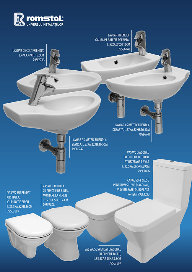 obiecte sanitare serel