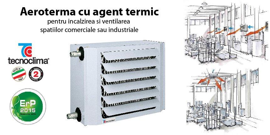 aeroterma cu agent termic