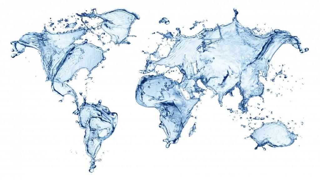 Harta lumii apa