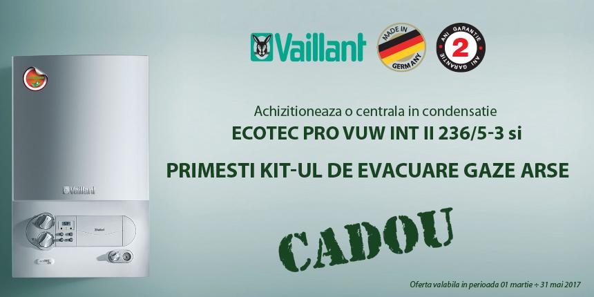 Promotie centrala Vaillant