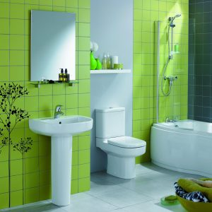 baie culoare verde