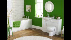 amenajare baie verde