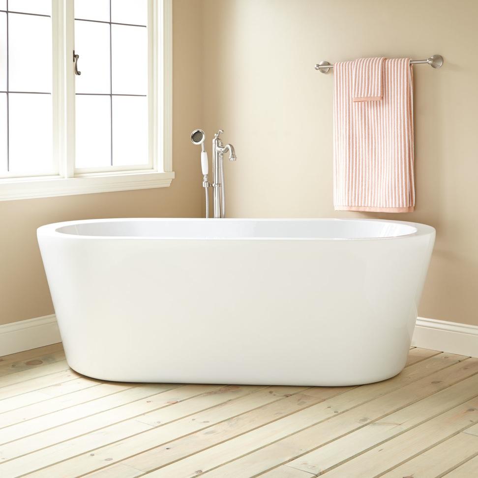 cada alba pentru baie