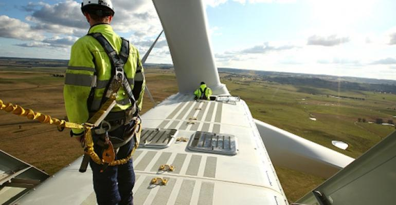 Reparatii turbina eoliana