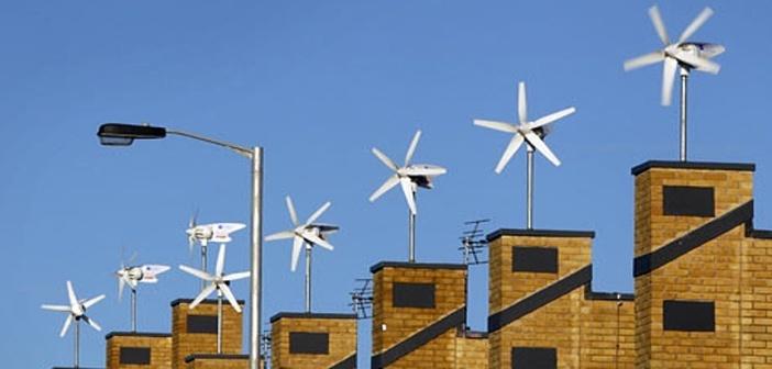 Turbine eoliane pentru bloc