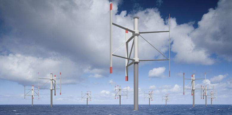 Turbine eoliene ax vertical