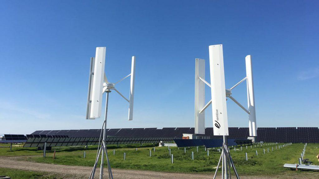 Turbine eoliene cu ax vertical