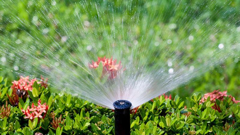 Consumul de apa al aspersoarelor