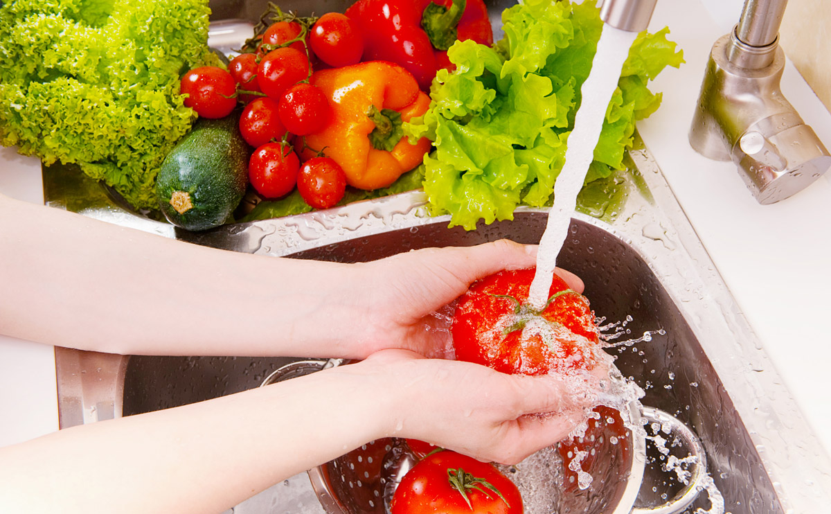 consumul de apa in bucatarie