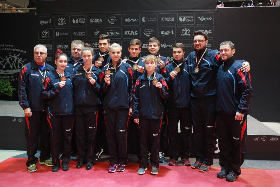 19 medalii la tenis de masa pentru Romania