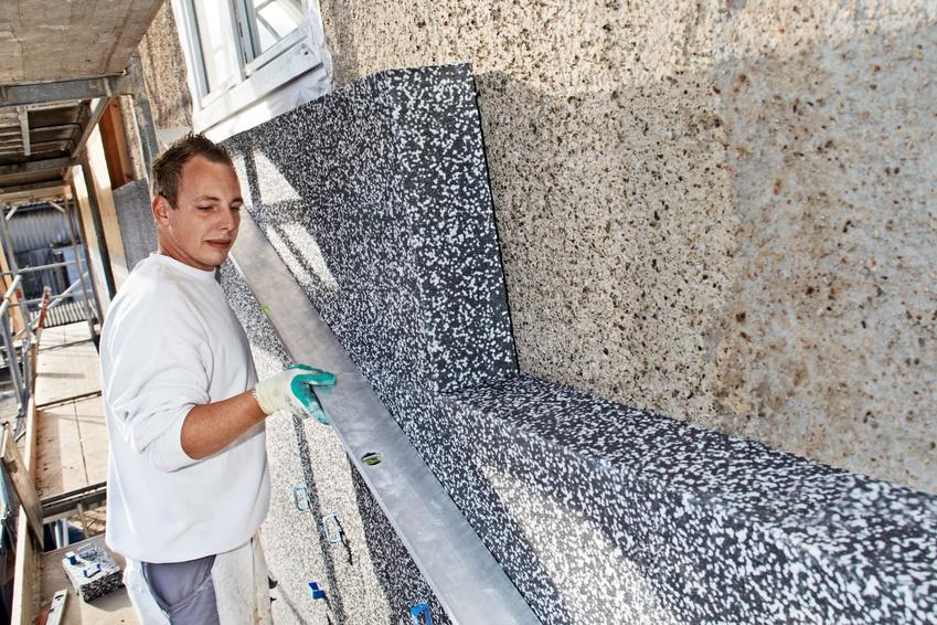 izolarea termica la exterior a peretilor