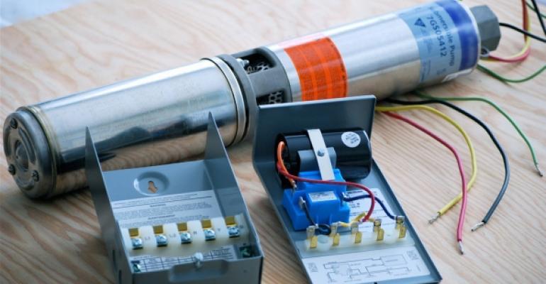Componente pompa submersibila