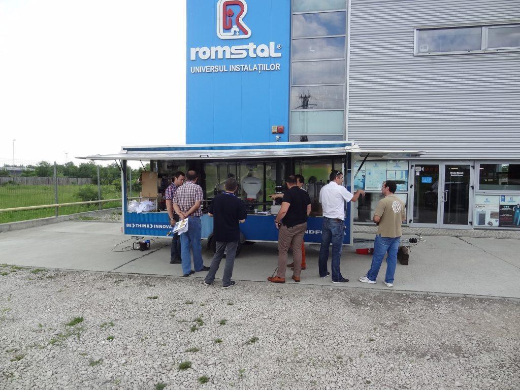 Caravana Grundfos la Romstal