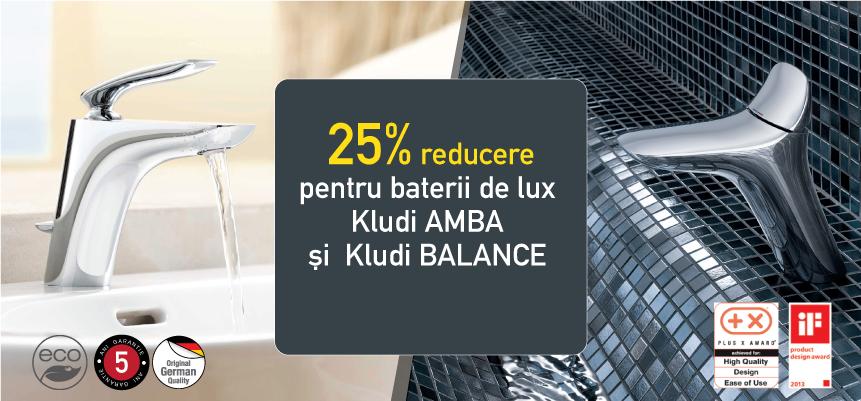 Reduceri baterii de baie