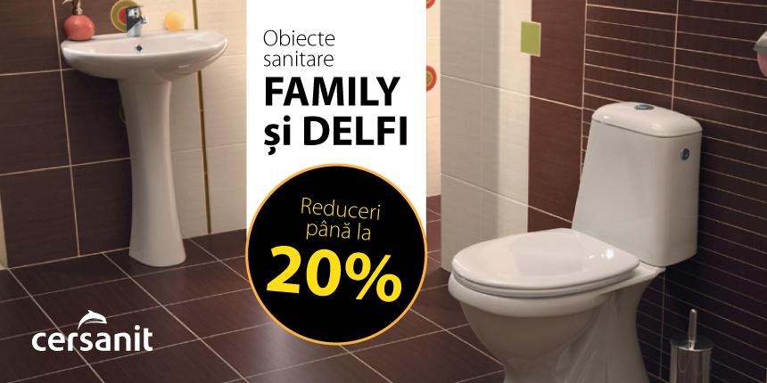 Reduceri obiecte sanitare Cersanit