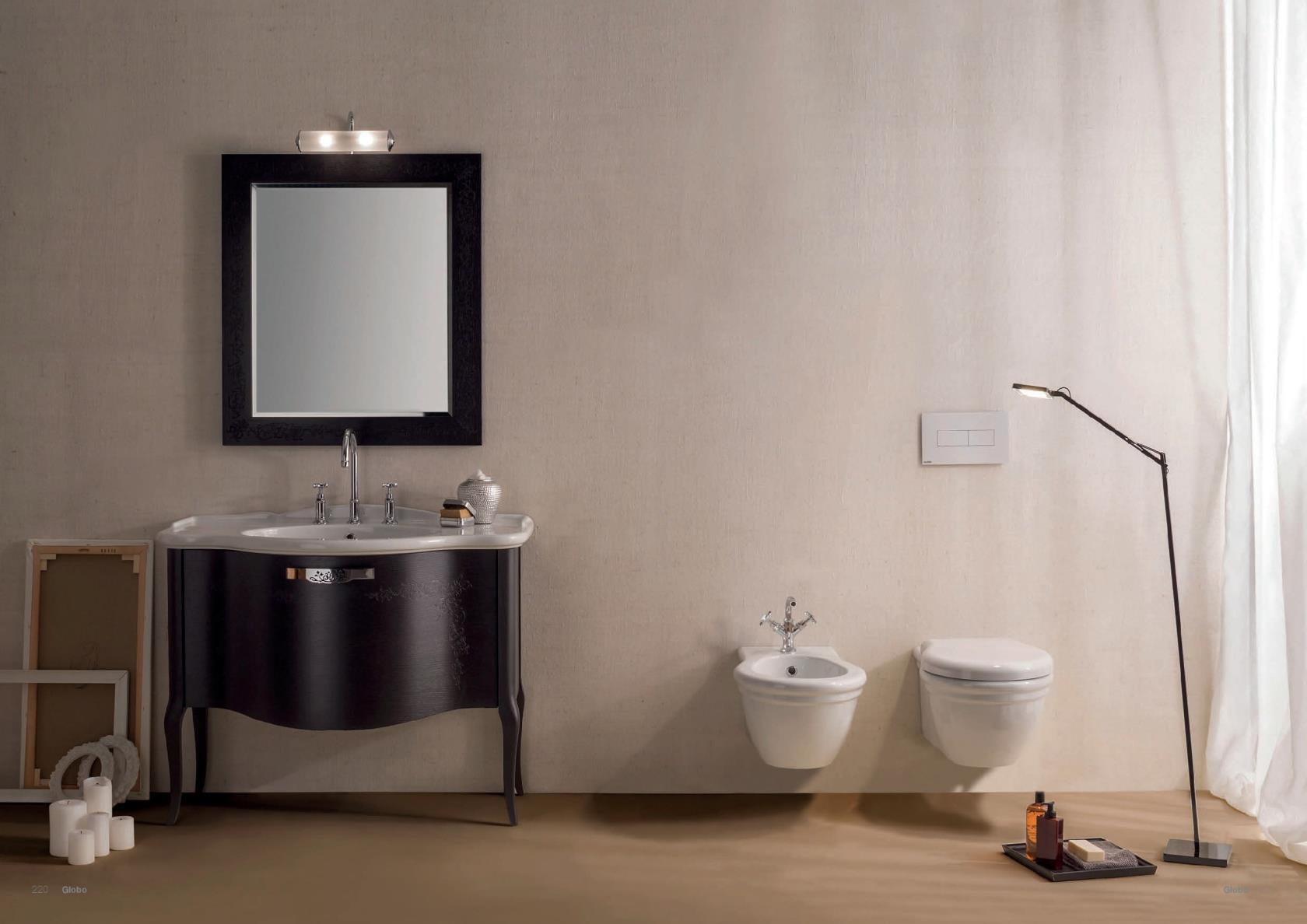 Vas WC si Bideu seria Paestum Ceramica Globo