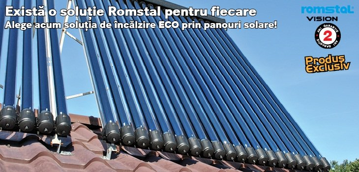 Panou solar Romstal Vision