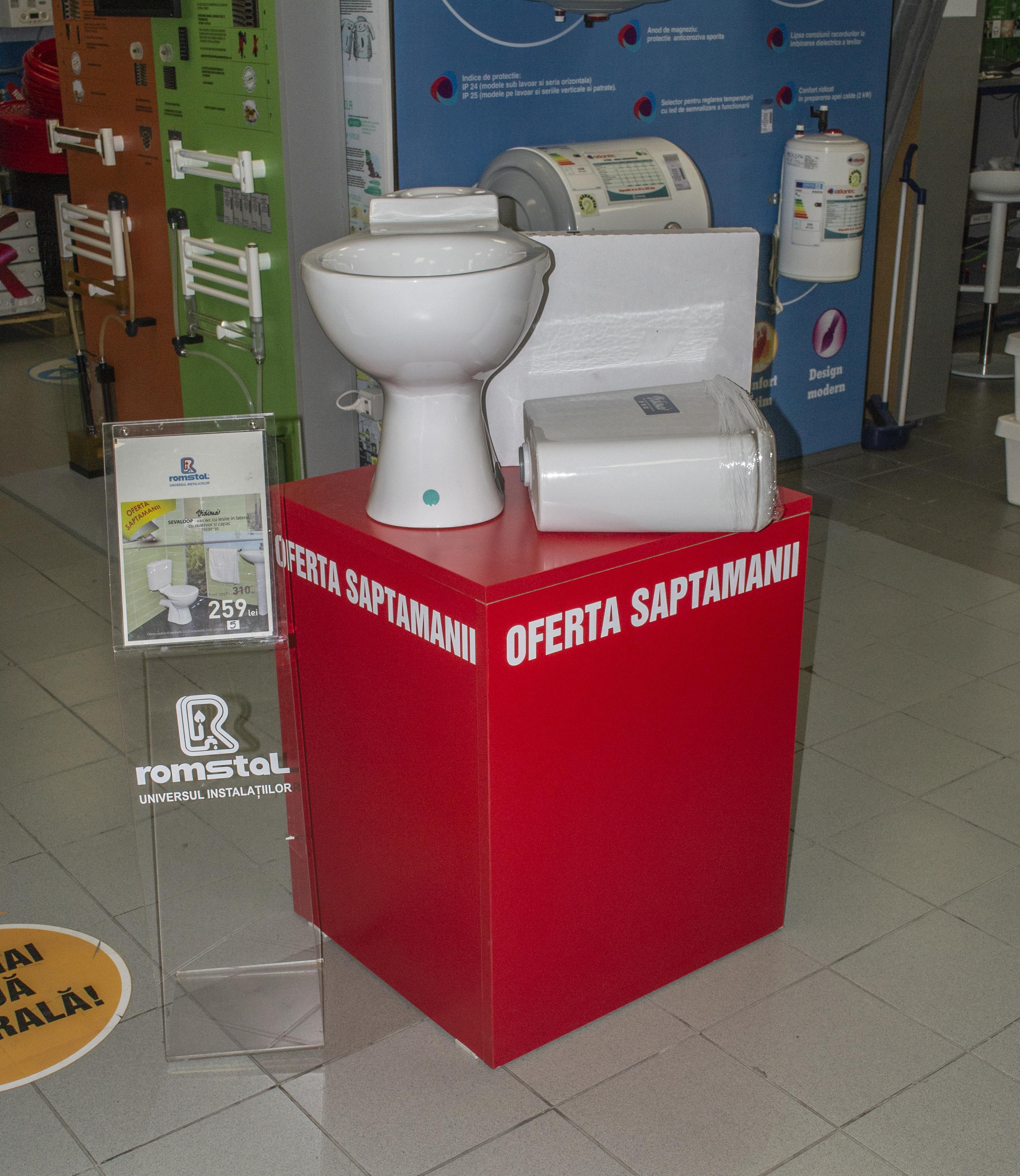 Expunere vas wc Sevaloop