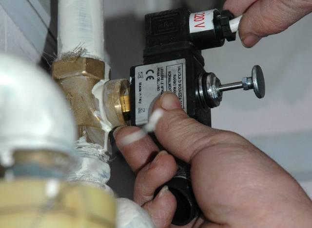 Instalare detectoare de gaz