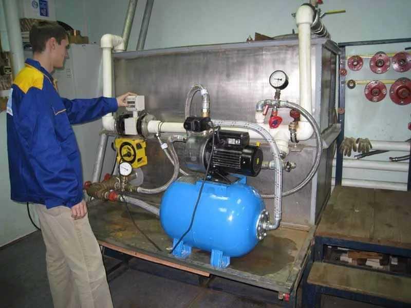 Verificare presiune hidrofor