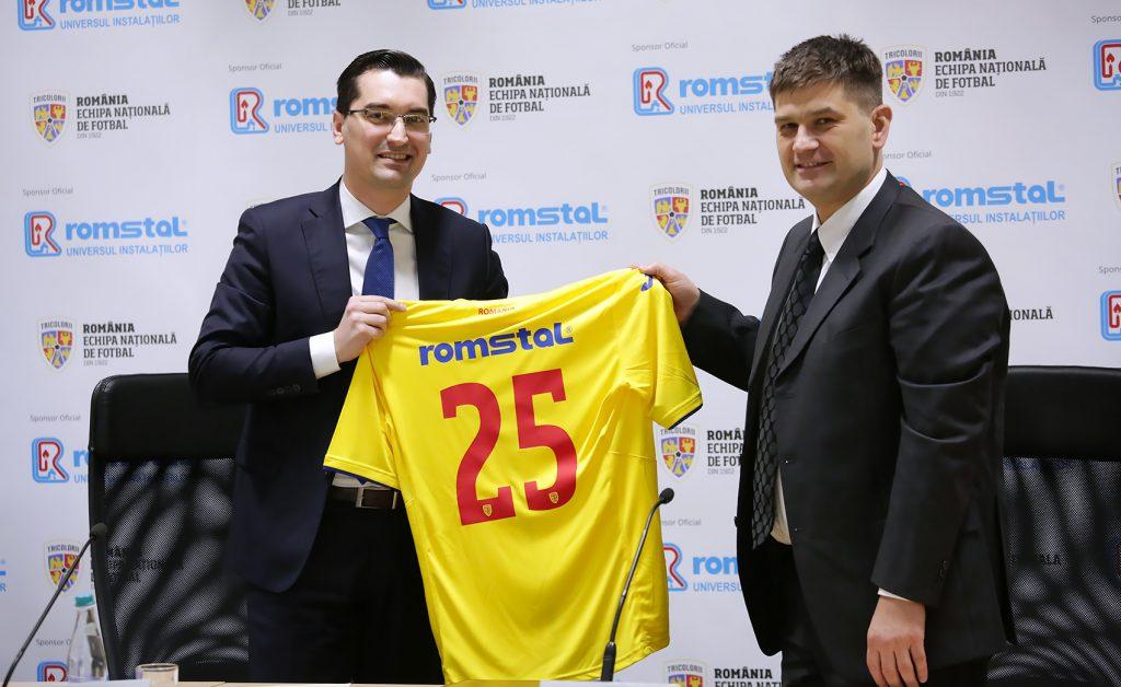 Romstal, sponsor echipa nationala