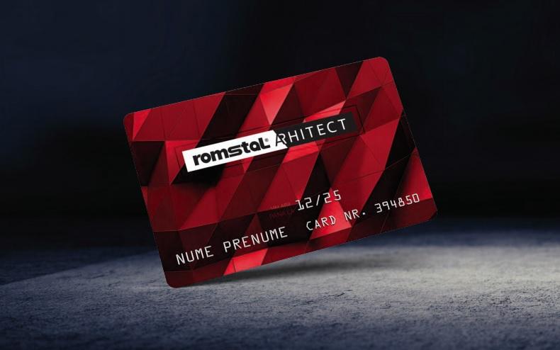 Cardul Romstal Arhitect Plus