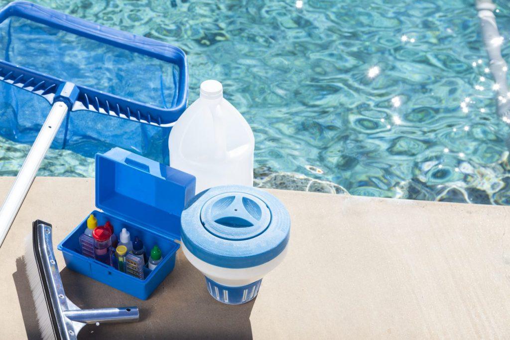 Produse curățare apă piscină