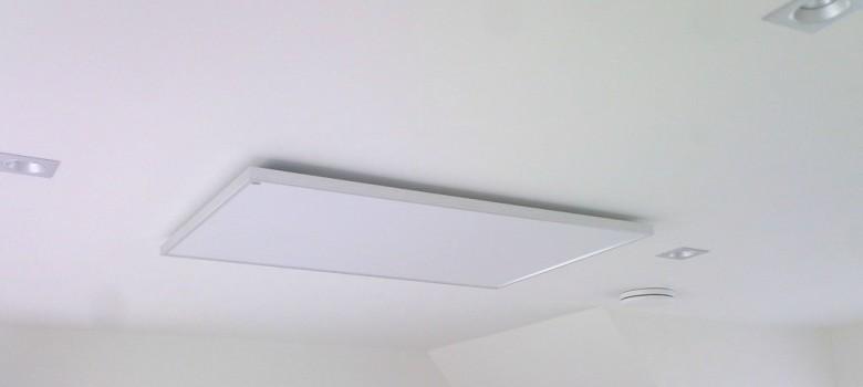 Incalzirea camerei cu ajutorul panourilor radiante
