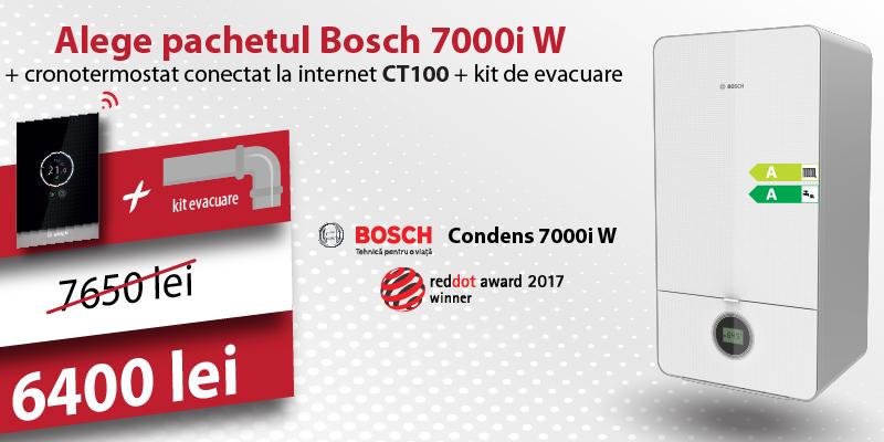 Pachet centrala Bosch 7000i W
