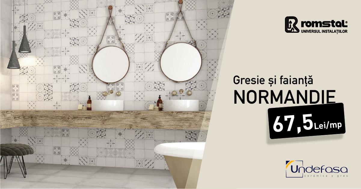Normandie - Gresie si faianta