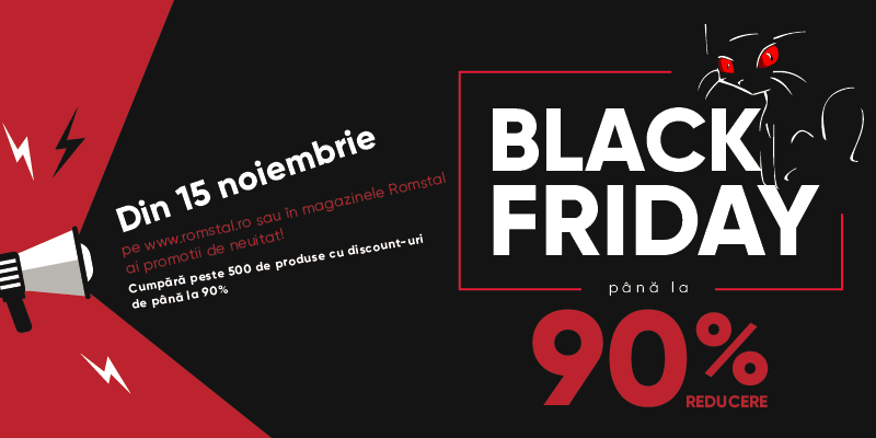 Black Friday 2019 la Romstal