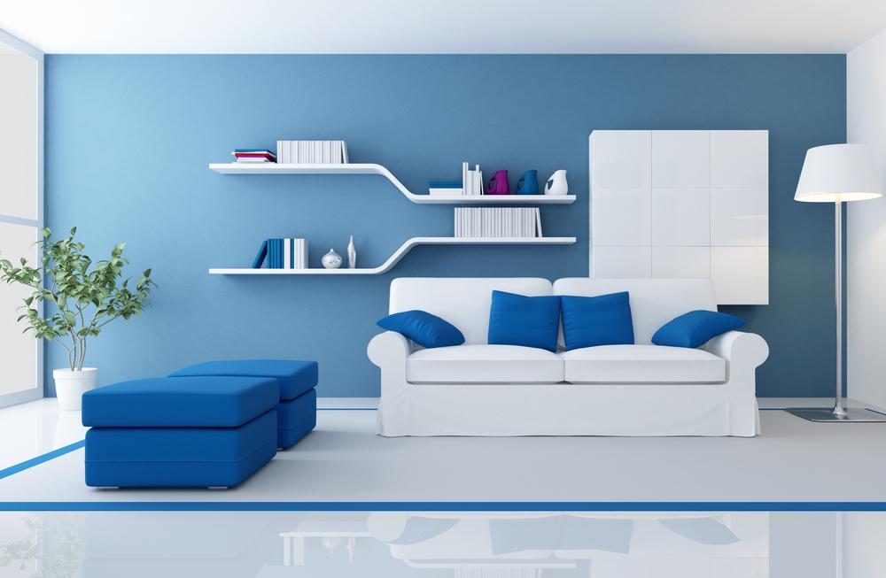 idei amenajare living minimalist