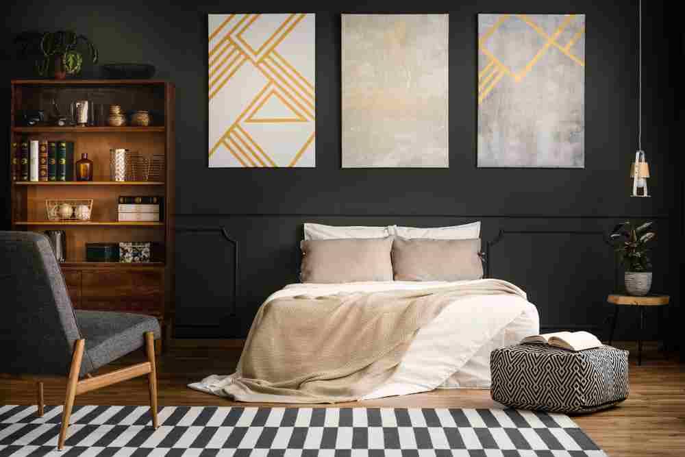 Dormitor in stil vintage