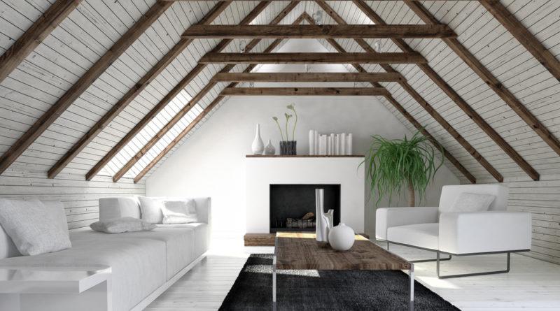 amenajarea mansardei livingroom