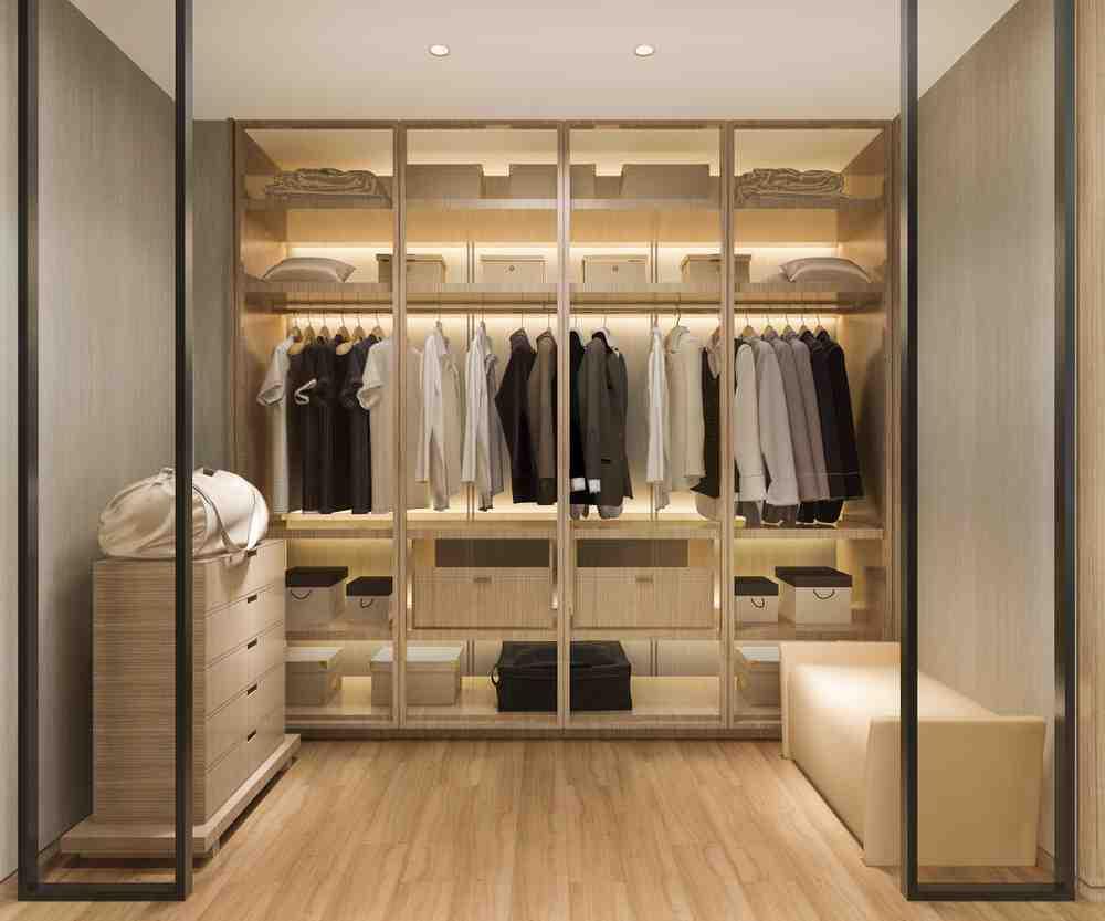 Cum construiesti un dressing modern