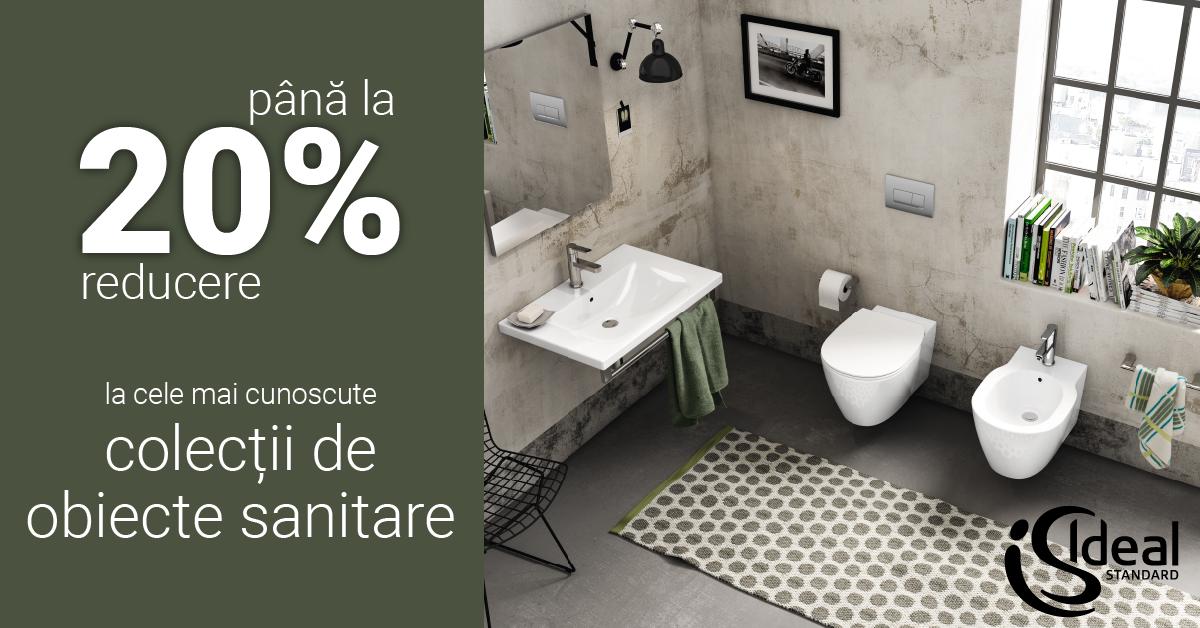 \Obiecte sanitare Ideal Standard cu 20% reducere
