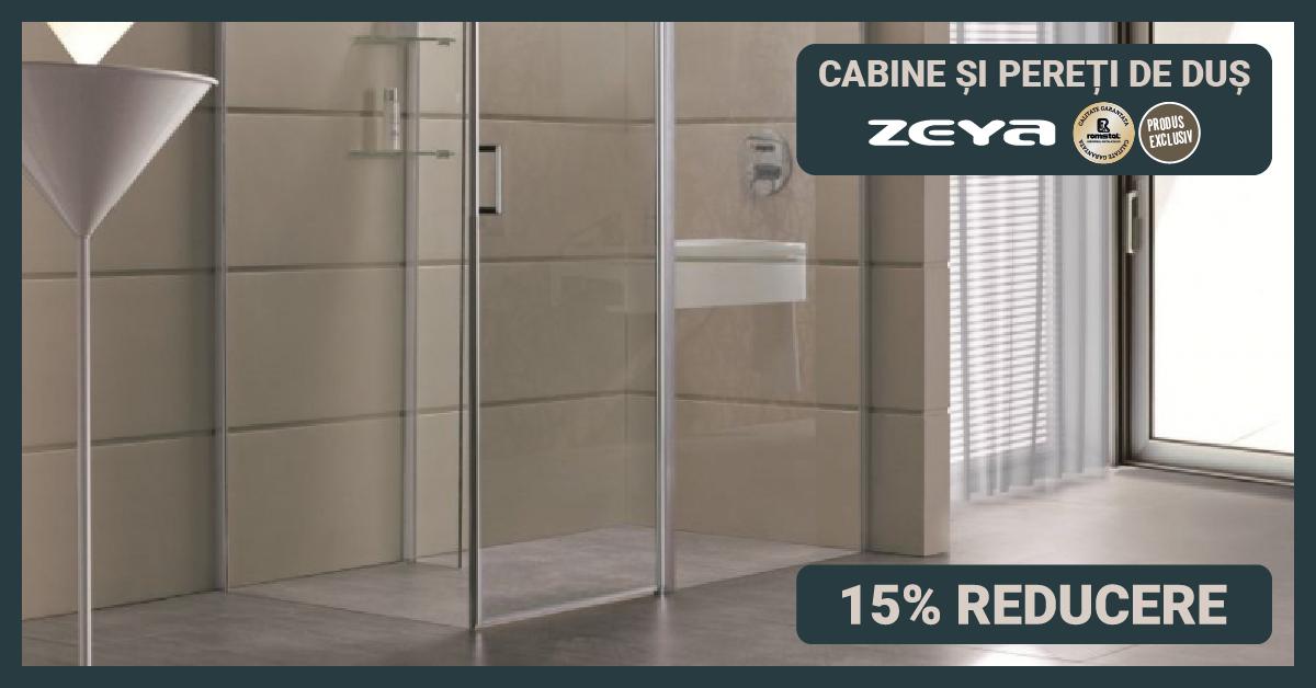 Cabine de dus Zeya - 15% reducere