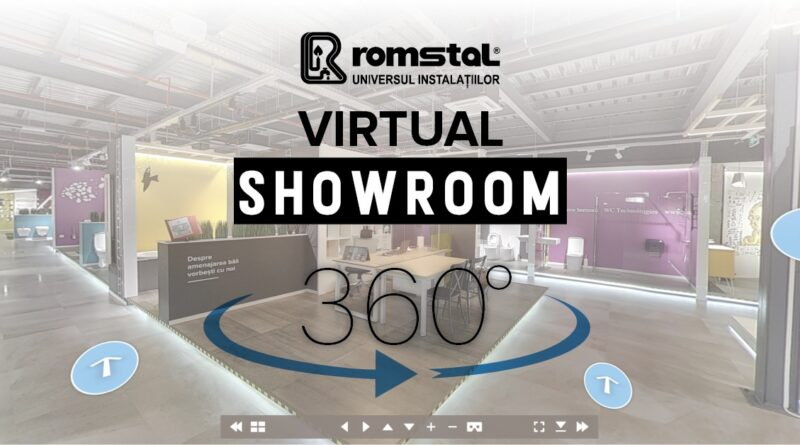 Tur virtual showroom Romstal