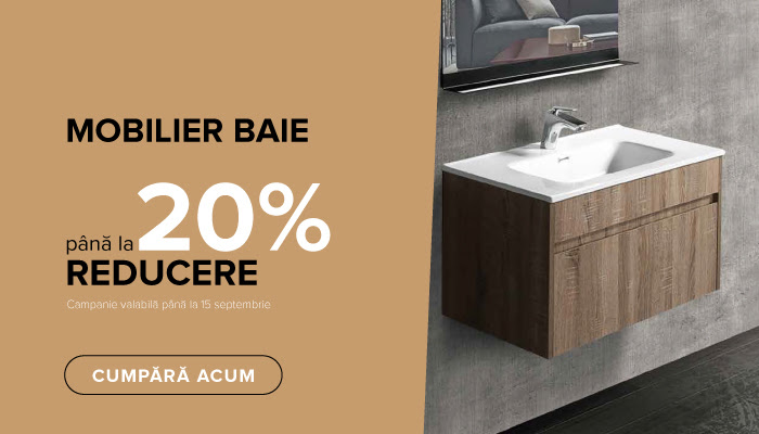 Reducere mobilier de baie