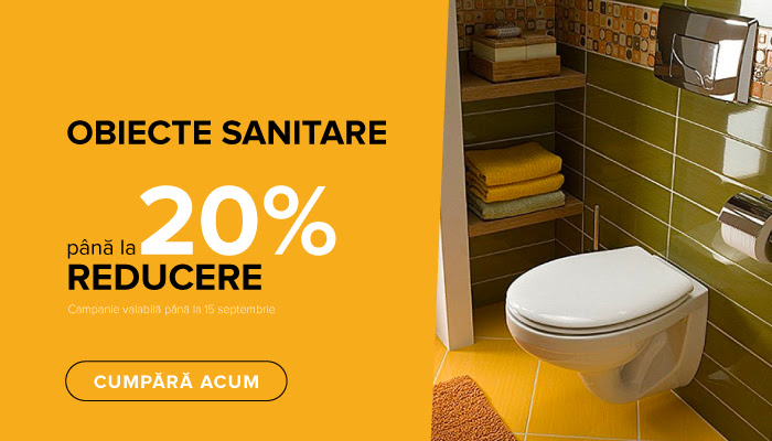 Reducere obiecte sanitare