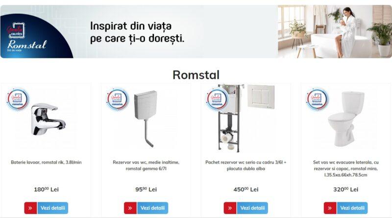 Romstal - Produse amenajare baie
