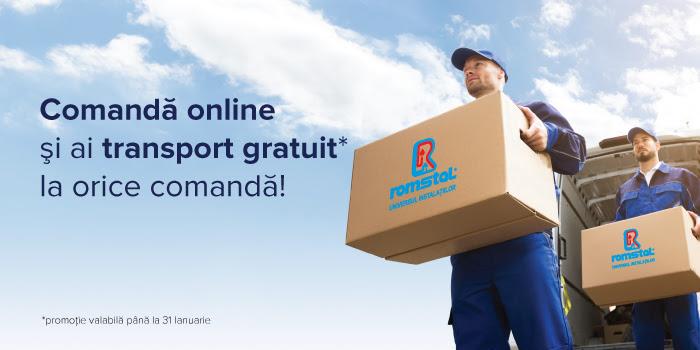Transport gratuit Romstal