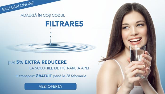 Solutii de filtrare a apei